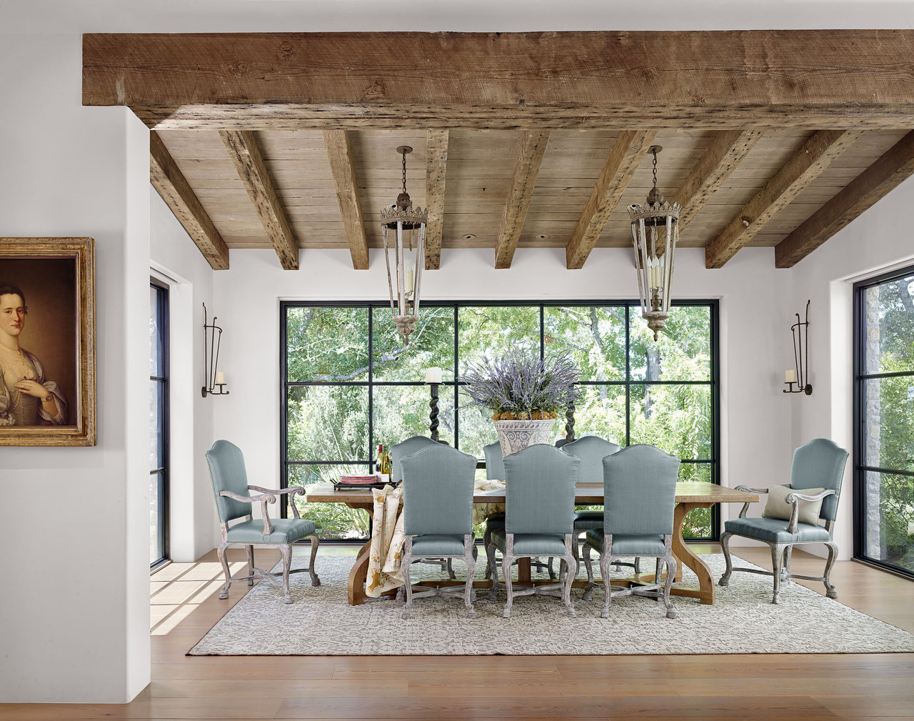 Trending wood ceiling treatments beams planking - Gloeilamp tizio lamp ...