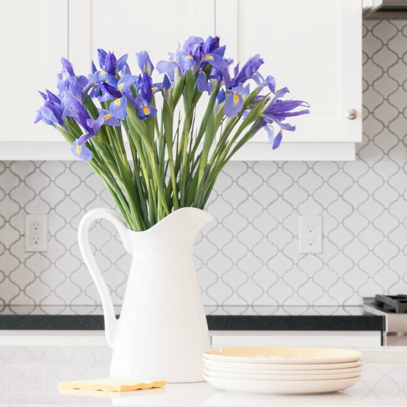 Styled for Spring Home Tour – my spring kitchen