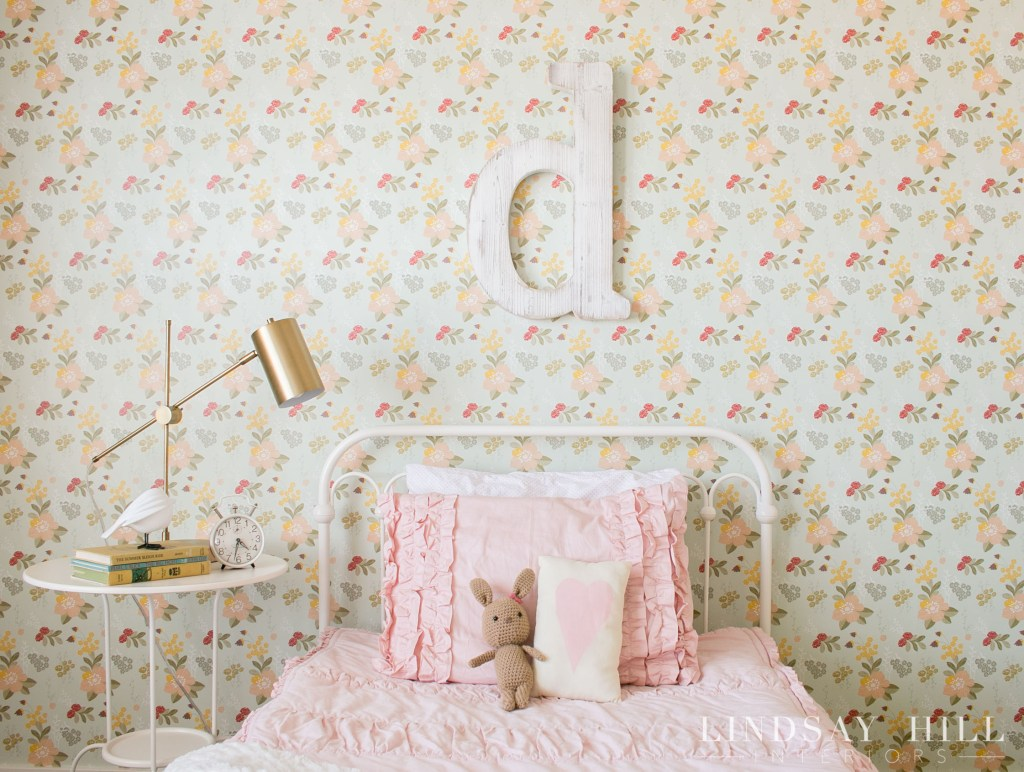 flower garden girls bedroom