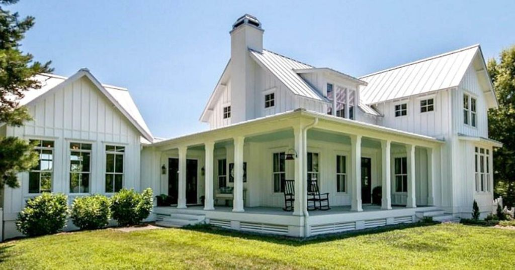 farmhouse style home exteriors north carolina