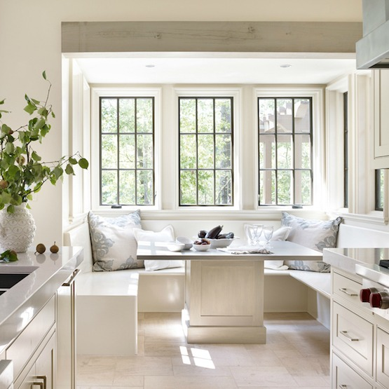 Dining Room Seating: Banquette Or Upholstered Settee