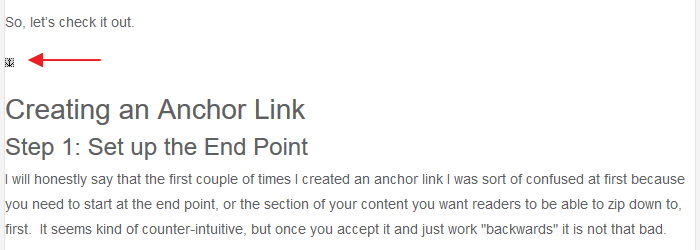 Anchor Link - Anchor Icon