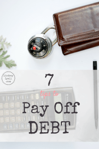 7 Tips to Pay off Debt Before the First Payment is Due