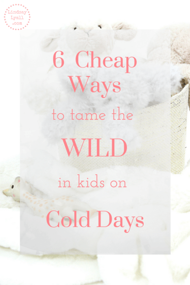 Cold weather can be a blessing or a curse when cooped up inside with kids on snow days. Click the link to get six tips to keep the kids occupied and tame the wild on cold snow days.