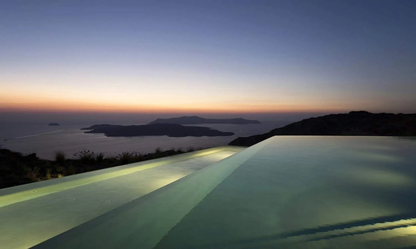That Time I Stayed in a $22,000-a-Night Private Villa in Santorini