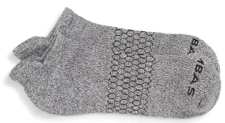 Bombas Grey ankle socks