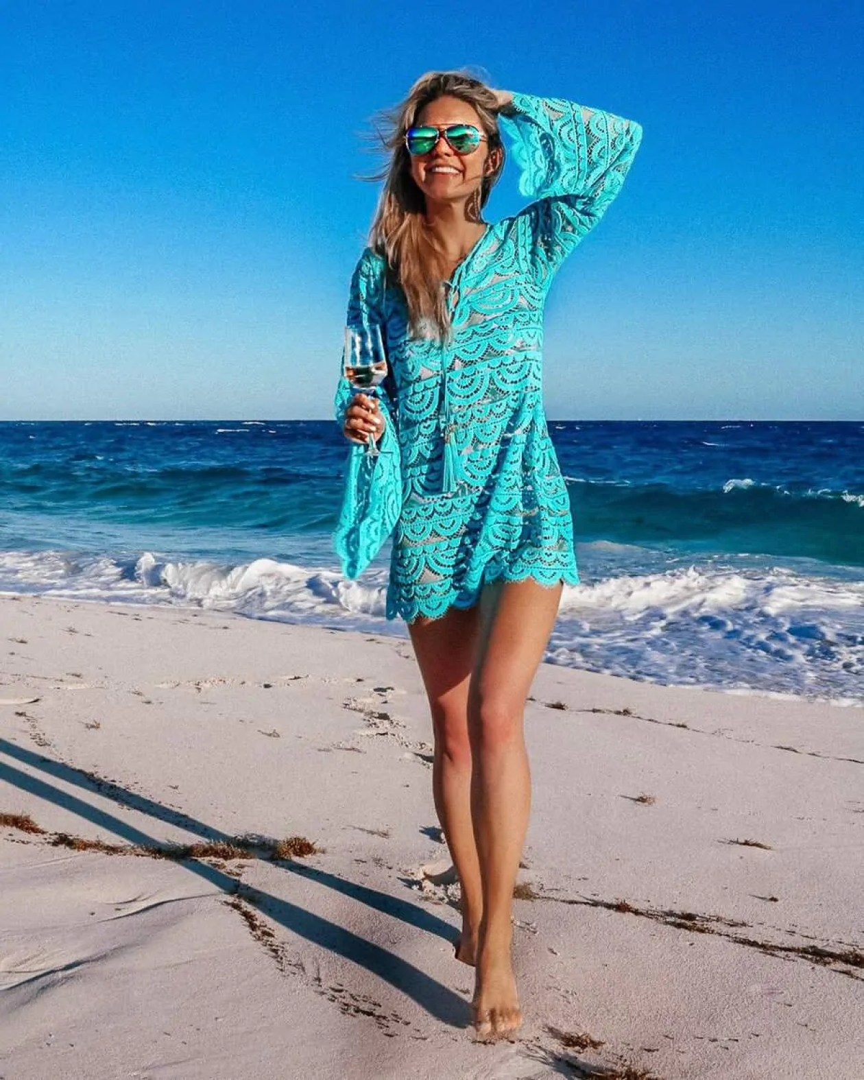 Beach vacation outfit