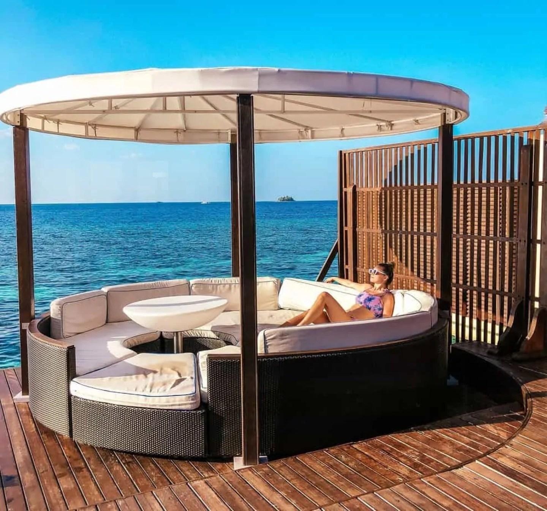 w retreat maldives overwater villa