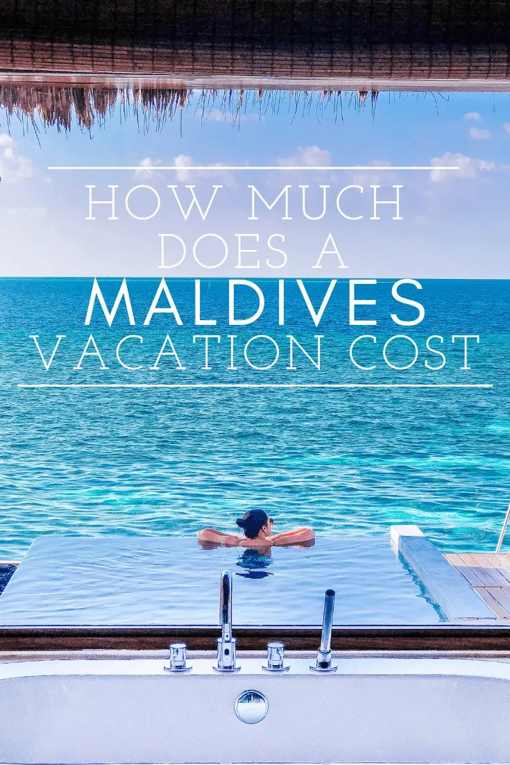 how much does a maldives vacation cost