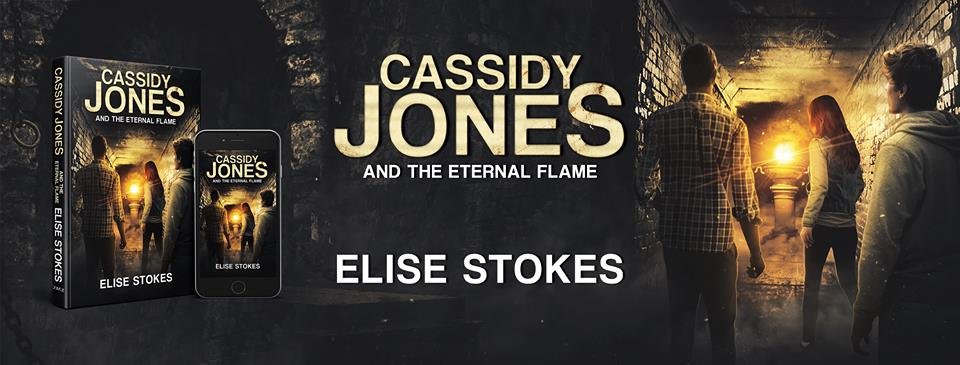 {New YA SciFi Review} Cassidy Jones and The Eternal Flame by Elise Stokes