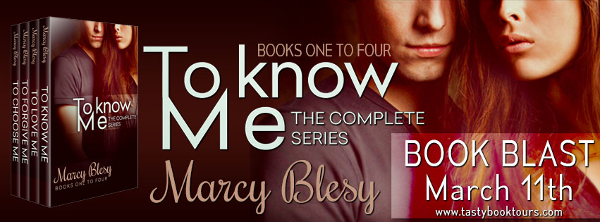 To Know Me Series by @MarcyBlesy Giveaway from @TastyBookTours