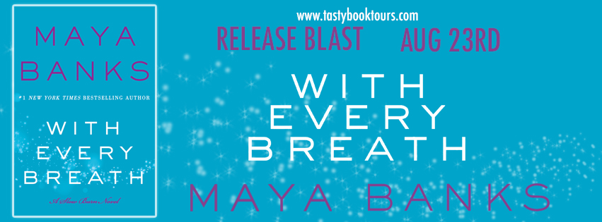 {New Release Giveaway} With Every Breath by @Maya_Banks