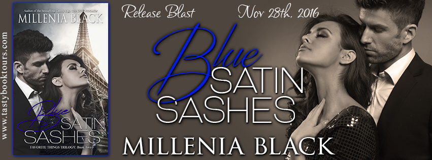 {New Release Giveaway} Blue Satin Sashes by @MillineaBlack