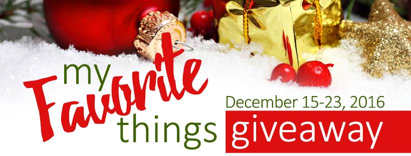 {My Favorite Things Giveaway} with @JeanneMcDonald