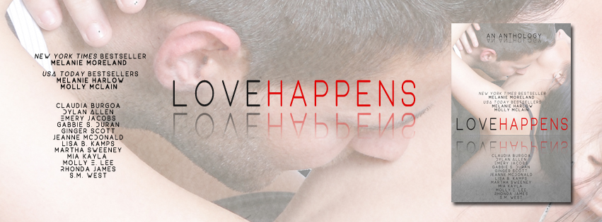 {Surprise Cover Reveal} Love Happens: An Anthology