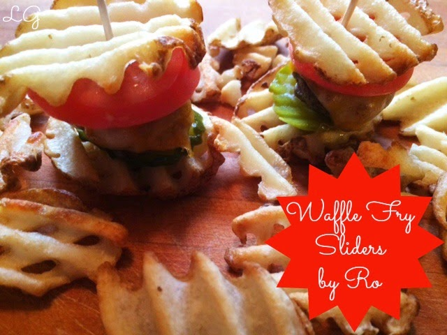 {Special Tempting Tuesday} Waffle Fry Sliders by Ro