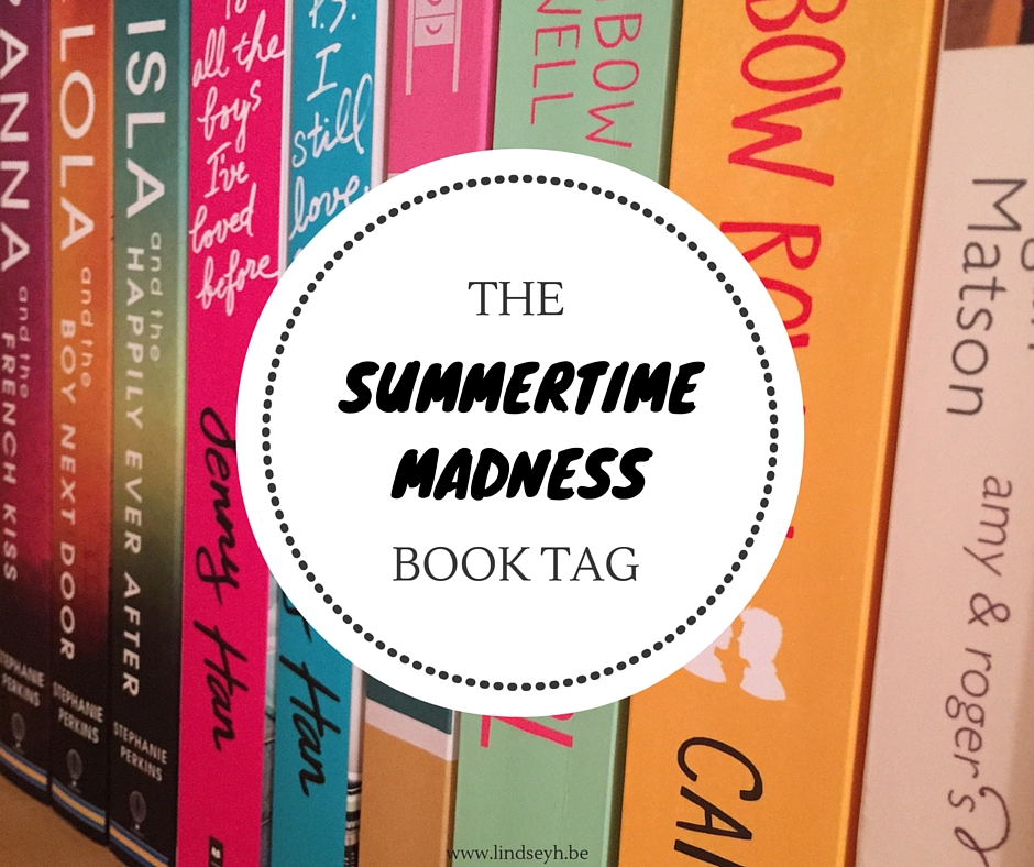 Summertime Madness Book Tag