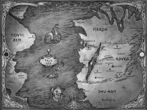Map of Ravka (Grisha Trilogy)