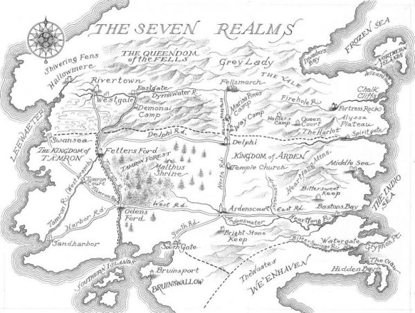 Map of The Seven Realms (Seven Realms)