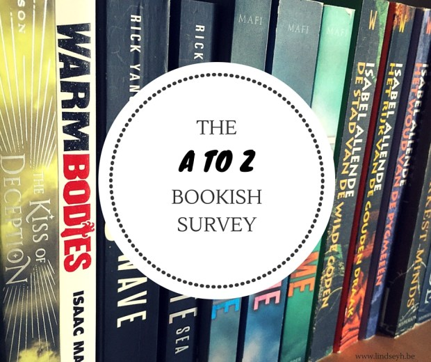 The A To Z Bookish Survey