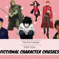 Top Ten Fictional Character Crushes {Top Ten Tuesday}