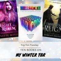 Ten Books On My Winter TBR {Top Ten Tuesday}