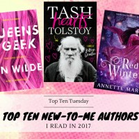 Top Ten New-To-Me Authors I Read In 2017 {Top Ten Tuesday}