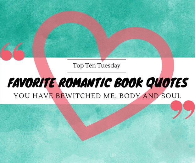 180306 Favorite Romantic Book Quotes
