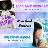 Diverse Beauties -- Let's Talk About Love by Claire Kann & American Panda by Gloria Chao {Mini Book Reviews}