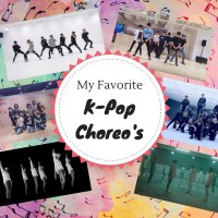 My Favorite K-Pop Choreo's {Something Different Sunday}
