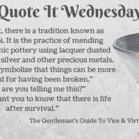 The Gentleman's Guide To Vice and Virtue {Quote It Wednesday}