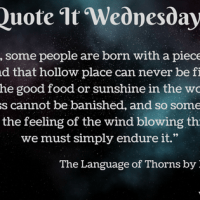 The Language of Thorns by Leigh Bardugo {Quote It Wednesday}