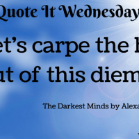 The Darkest Minds by Alexandra Bracken {Quote It Wednesday}