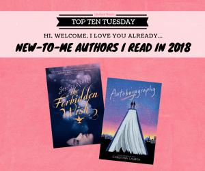 190115 TTT New-to-me authors 2018