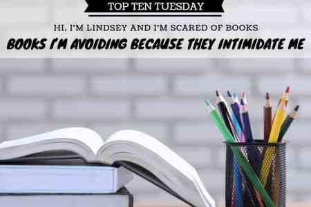 191001 Books I'm Avoiding