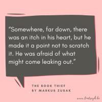 The Book Thief by Markus Zusak {Quote It Wednesday}