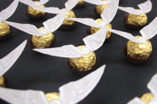 Ferrero Rocher golden snitches