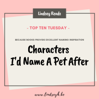 Characters I'd Name A Pet After