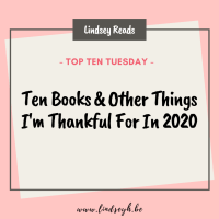 Ten Books & Other Things I'm Thankful For In 2020
