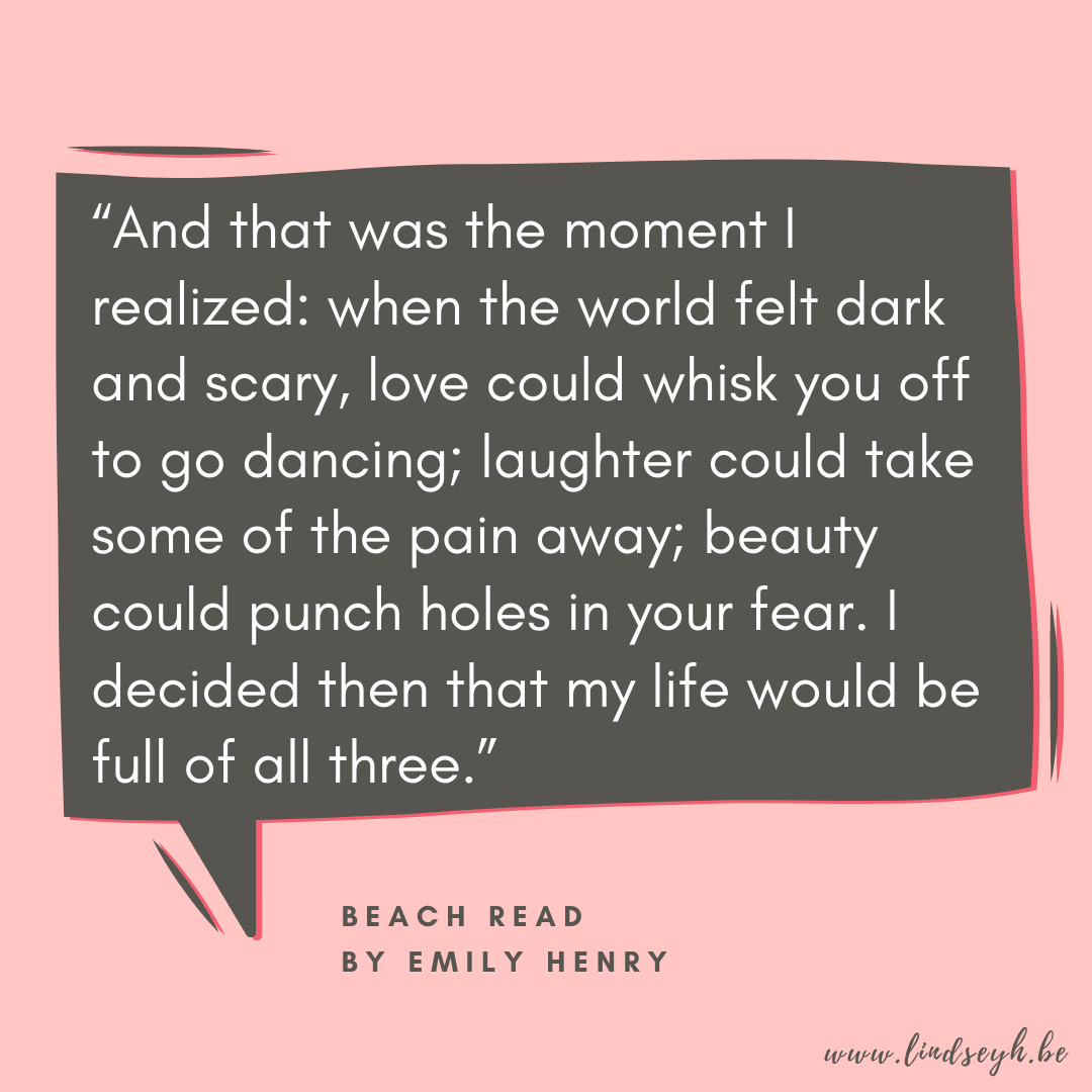 Beach Read by Emily Henry Quote