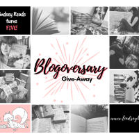 Lindsey Reads Turns Five! -- Blogoversary Give-Away