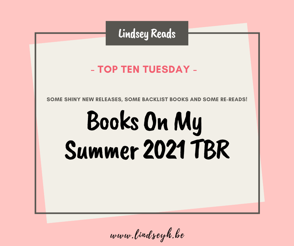 20210615 Books On My Summer 2021 TBR