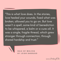 Rule of Wolves by Leigh Bardugo {Quote It Wednesday}