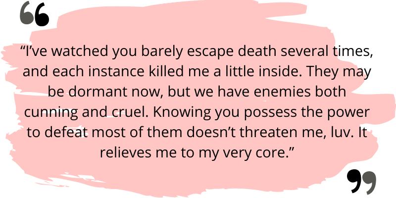 Night Huntress Quote