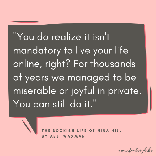 The Bookish Life of Nina Hill Quote