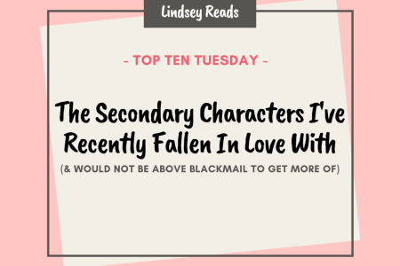20210810 Favorite Secondary Characters