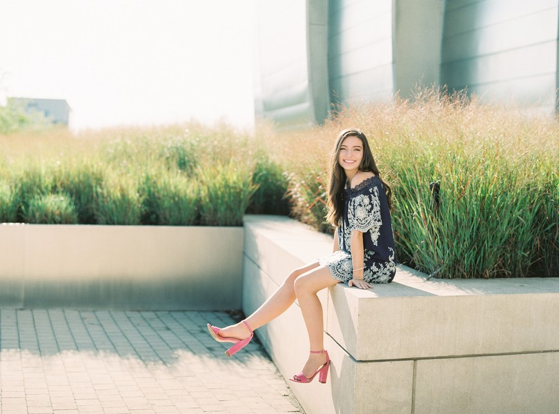 High School Senior Photography Kansas City Missouri Lindsey