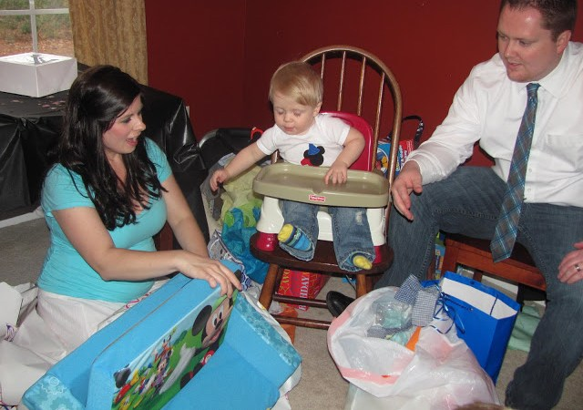 Gavin's 1st Birthday and Party!