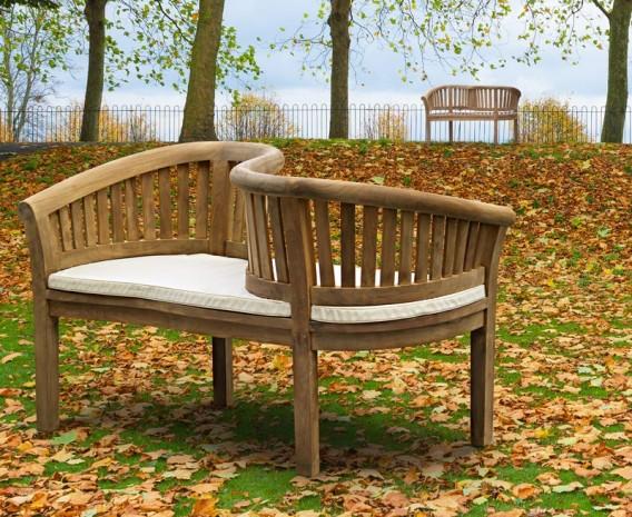 Garden Love Seat Rattan