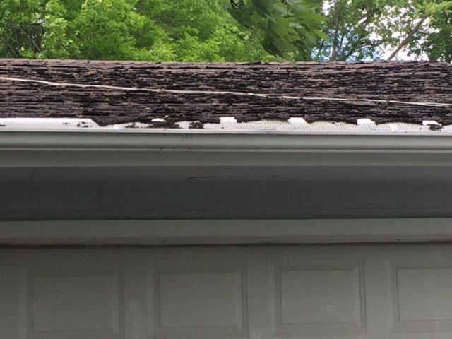 failing roof